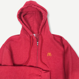 McDonalds Golden Arches Full Zip Hoodie Medium
